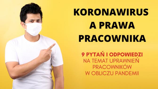 prawa pracownika a pandemia koronawirusa